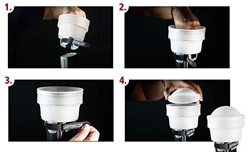GaryFong Collapsible Speed Mount Lighting Kit - 4