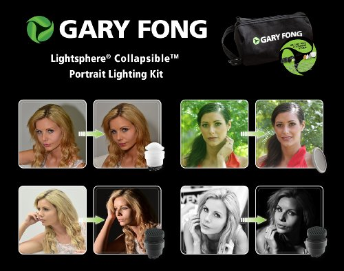Gary Fong LSC-SM-P Collapsible Portrait Lighting Kit - 2