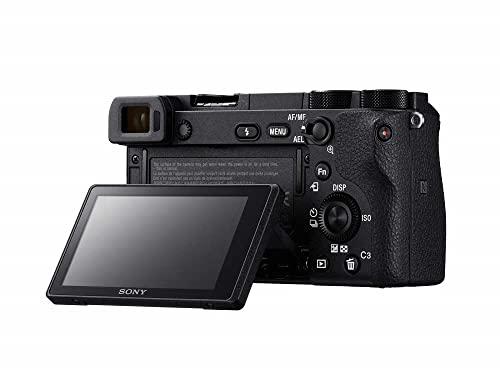 Sony Alpha 6500 APS-C E-Mount Systemkamera (24,2 Megapixel, 7,5 cm (3 Zoll) Touch Display, 425 Phasen AF-Punkte, XGA OLED Sucher) schwarz - 3