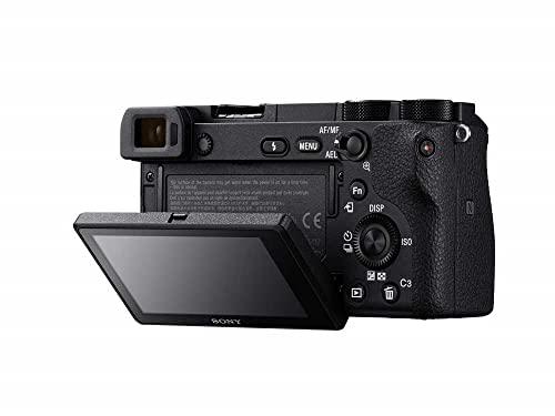 Sony Alpha 6500 APS-C E-Mount Systemkamera (24,2 Megapixel, 7,5 cm (3 Zoll) Touch Display, 425 Phasen AF-Punkte, XGA OLED Sucher) schwarz - 4