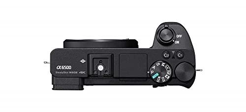 Sony Alpha 6500 APS-C E-Mount Systemkamera (24,2 Megapixel, 7,5 cm (3 Zoll) Touch Display, 425 Phasen AF-Punkte, XGA OLED Sucher) schwarz - 5