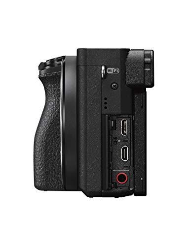 Sony Alpha 6500 APS-C E-Mount Systemkamera (24,2 Megapixel, 7,5 cm (3 Zoll) Touch Display, 425 Phasen AF-Punkte, XGA OLED Sucher) schwarz - 8