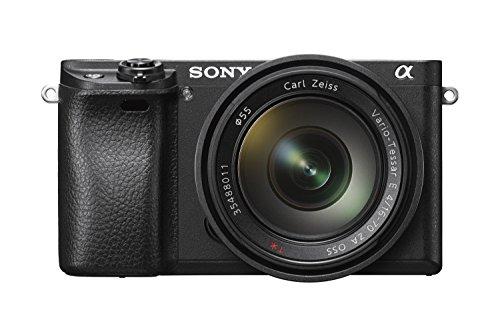 Sony Alpha 6300 E-Mount Systemkamera 24 Megapixel mit Zeiss Kit 16-70mm Objektiv schwarz