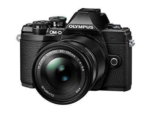 Olympus OM-D E-M10 Mark III Systemkamera – 16 Megapixel inkl. 14-42mm Objektiv silber + M. Zuiko Digital ED 40-150 mm Objektiv schwarz - 3