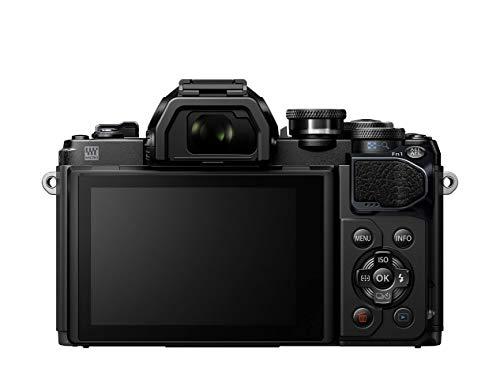 Olympus OM-D E-M10 Mark III Systemkamera – 16 Megapixel inkl. 14-42mm Objektiv silber + M. Zuiko Digital ED 40-150 mm Objektiv schwarz - 4