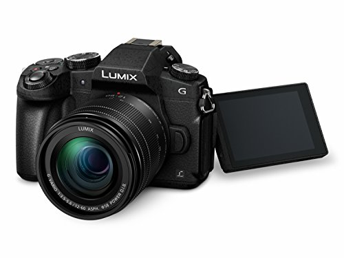 Panasonic DMC-G81MEG-K Lumix G Systemkamera (16 MP, 4K Foto-Video, Dual I.S. Bildstabilisator, OLED-Sucher, Hybrid Kontrast AF, 7,5 cm Touchscreen, WiFi) mit Objektiv H-FS12060/F3,5-5,6/ OIS schwarz - 5