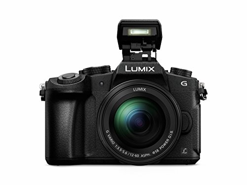 Panasonic DMC-G81MEG-K Lumix G Systemkamera (16 MP, 4K Foto-Video, Dual I.S. Bildstabilisator, OLED-Sucher, Hybrid Kontrast AF, 7,5 cm Touchscreen, WiFi) mit Objektiv H-FS12060/F3,5-5,6/ OIS schwarz - 3