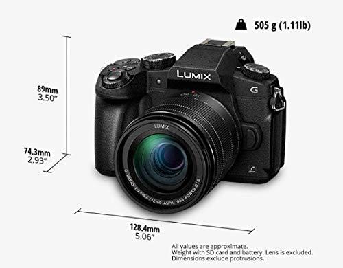 Panasonic DMC-G81MEG-K Lumix G Systemkamera 16 MP mit Objektiv H-FS12060/F3,5-5,6 OIS schwarz - 6