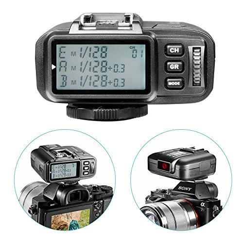 Neewer® N1T-S TTL 2.4 G 32 Kanäle Funk-Blitz Auslöser-Sender für Sony Kameras wie a77II a7RII A7R a58 a99, Studio-Blitz und Blitz Speedlite - 4