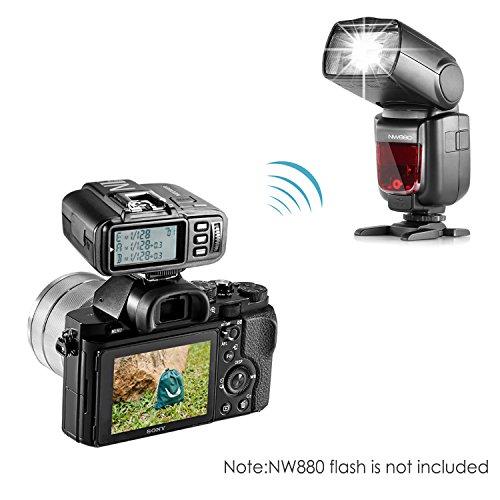 Neewer® N1T-S TTL 2.4 G 32 Kanäle Funk-Blitz Auslöser-Sender für Sony Kameras wie a77II a7RII A7R a58 a99, Studio-Blitz und Blitz Speedlite - 5