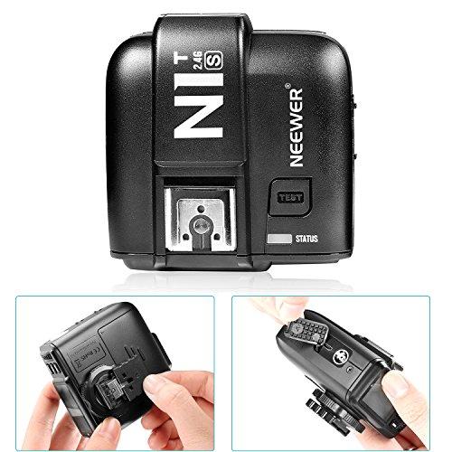 Neewer® N1T-S TTL 2.4 G 32 Kanäle Funk-Blitz Auslöser-Sender für Sony Kameras wie a77II a7RII A7R a58 a99, Studio-Blitz und Blitz Speedlite - 7