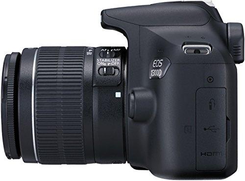 Canon EOS 1300D Digitale Spiegelreflexkamera (18 Megapixel, APS-C CMOS-Sensor, WLAN mit NFC, Full-HD) - 5