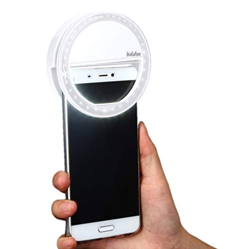 Bidafun LED Strahler Flash Selfie Licht ring Kamera Foto Video Licht Lampe handy
