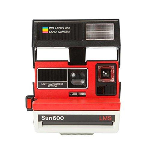 "Impossible Polaroid 600 Filmen Sofortbildkamera One Step Close up ""Sonderedition"" tennis rot"