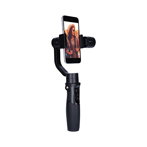 Rollei Smartphone Gimbal Steady Butler Mobile -3 Achsen Schwebestativ (Stabilisator/Steadycam) für Smartphones mit Integrierter Power Bank, inkl. App mit Vielen Funktionen - 3