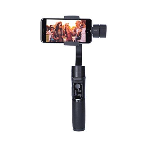 Rollei Smartphone Gimbal Steady Butler Mobile -3 Achsen Schwebestativ (Stabilisator/Steadycam) für Smartphones mit Integrierter Power Bank, inkl. App mit Vielen Funktionen - 4