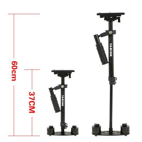 Tarion OS03565 Schwebestativ Stabilisator max bis 60 cm mit Gewicht DSLR Rig - 3