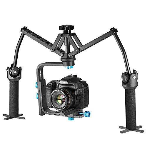 Neewer Mechanisches Schwebestativ, mit Kugellager, Konstruktion aus Aluminium für Canon Nikon Sony und andere DSLR-Kameras, Digital Video Recorder und Camcorder bis zu 13Pfund/6Kilogramm - 4