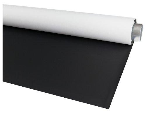 Bessel Fotohintergrund, tragbar, Vinyl, 1,45 m x 3 m, doppelseitig, Matt-schwarz/ Weiß