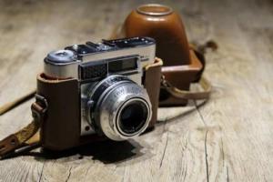 Analoger Fotoapparat