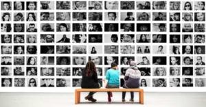 Eine Fotoausstellung - eine wunderbare Sache seine Fotos anderen zu präsentieren