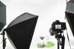 Softbox im Einsatz bei der Produktfotografie