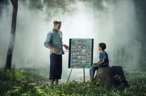 Um stimmungsvolle Bilder z.B. hier über Wissensvermittlung aufzunehmen, bedarf es einiges an fotografischen Wissen